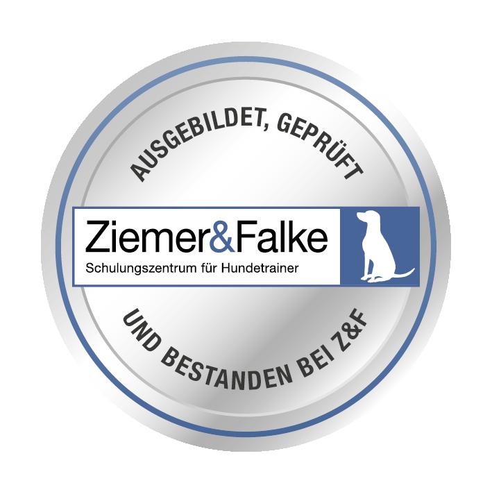 Ausgebildet und geprüft bei Ziemer & Falke